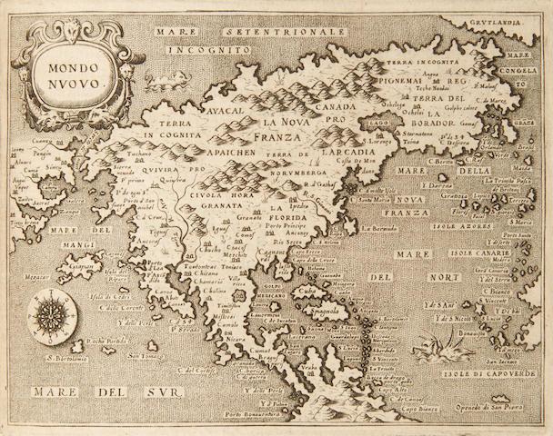 PORCACCHI, THOMASO, AND GIRALAMO PORRO. L'Isole piu Famose del Mondo. Venice: S. Galignani and G. Porro, 1575-6.