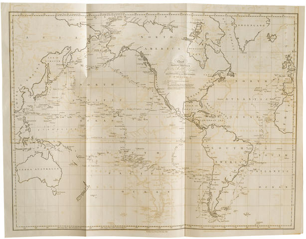 BEECHEY, FREDERICK WILLIAM. 1796-1856. Narrative of a Voyage to the Pacific and Beering's Strait, to Co-Operate with the Polar Expeditions: Performed in His Majesty's Ship Blossom ... in the Years 1825, 26, 27, 28. London: Henry Colburn and Richard Bentley, 1831.