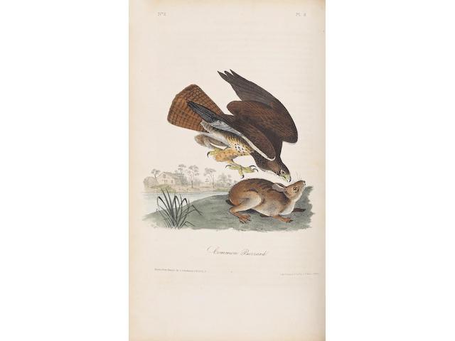 AUDUBON, JOHN JAMES. 1785-1851. The Birds of America, from Drawings Made in the United States and Their Territories. New York: J.J. Audubon / Philadelphia: J.B. Chevalier, 1840-44.