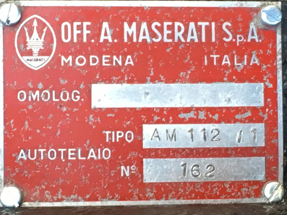 <B>1967 MASERATI MEXICO 4.7 COUPE</b>
