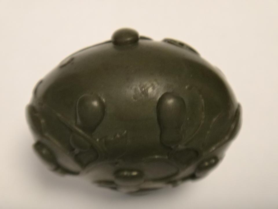 A Duan stone snuff bottle 1760-1820