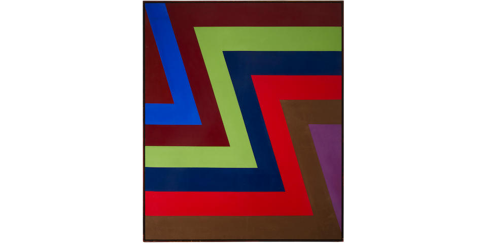 Howard Mehring (1931-1978) Two and One, 1967 57 x 47 5/8 in. (144.8 x 120.9 cm)