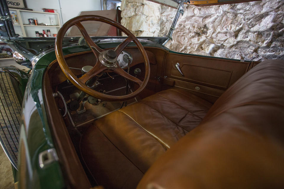 <i>From the Estate of Richard Hopeman</i><BR /><B>1930  LINCOLN Model L 7-Passenger Touring </B><BR />Chassis no. K63515<BR />Engine no. 63515