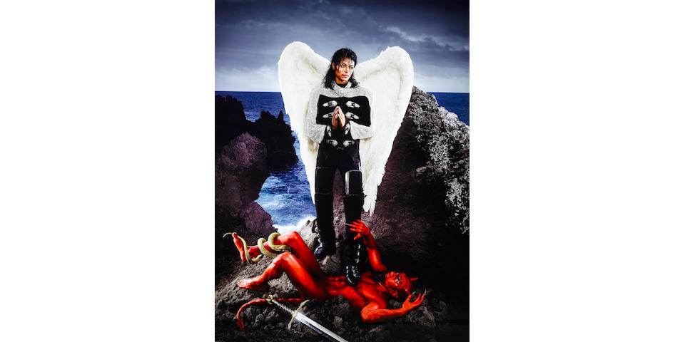 David LaChapelle (born 1964) Archangel Michael: And No Message Could Have Been Any Clearer, Hawaii, 2009 96 x 72 in. (243.8 x 182.9 cm) This work is number one of the edition of three.