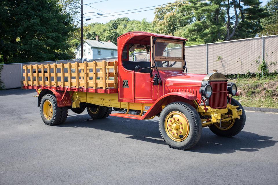 "<b>1917 Mack AB ""C"" Cab Stake Bed  </b><br />Chassis no. 579334"