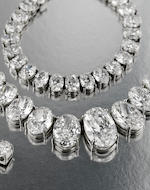 An important diamond rivière necklace, William Goldberg