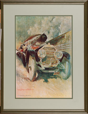 'The Oldsmobile Limited' Print