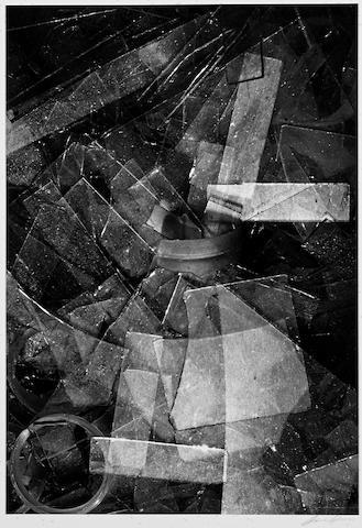 Ansel Adams (1902-1984); Glass Shards, Los Angeles, California;