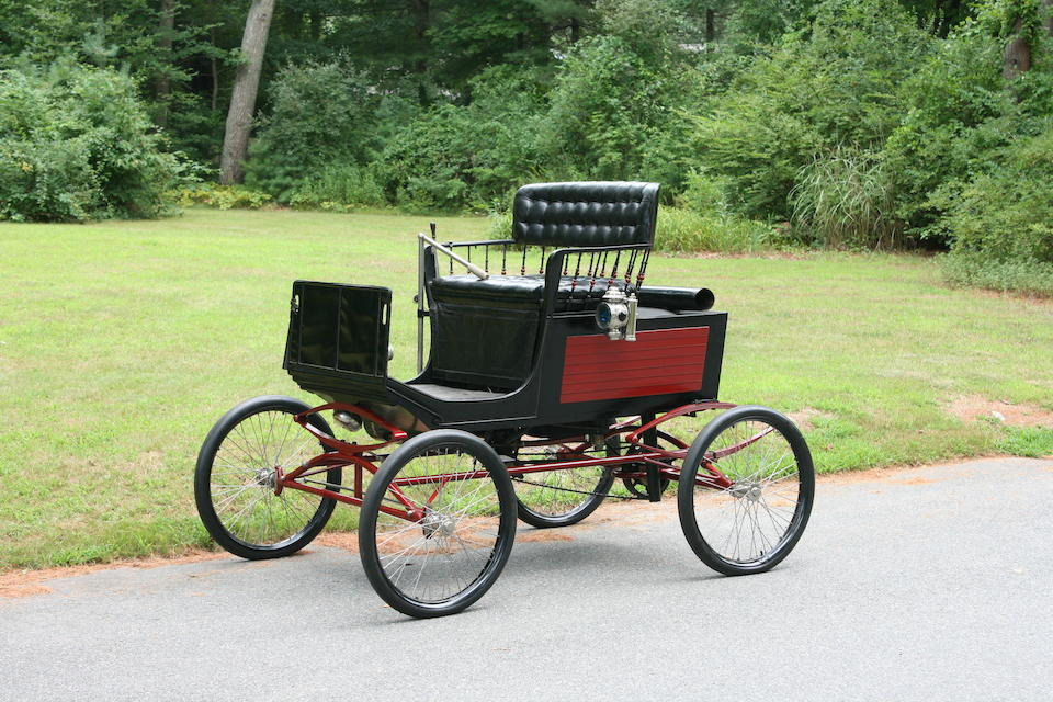 <i>Two owners from new, in the same ownership since 1930</i><BR /><B>1899 Locomobile Style 2 Stanhope</B><BR />Car no. 1270