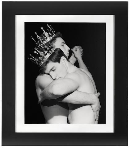 Robert Mapplethorpe (1946-1989); Two Men Dancing;