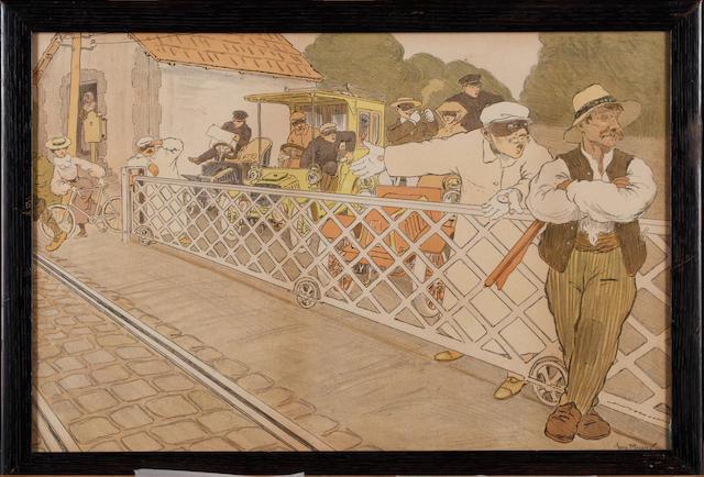 'The Rail Crossing'