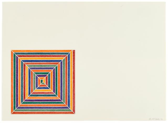 Frank Stella (born 1936); Line Up, from Jasper's Dilemma;