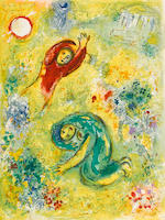 Marc Chagall (1887-1985); Daphnis et Chloé;