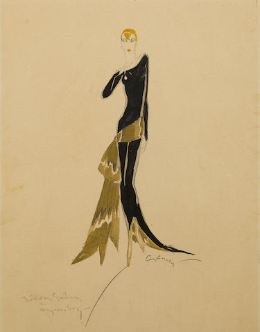 AN ADRIAN COSTUME DESIGN FOR MYRNA LOY FOR WHAT PRICE BEAUTY?