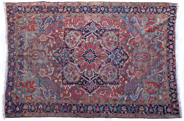 A Heriz carpet Northwest Persia