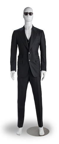 A Daniel Craig three-piece suit worn in SPECTRE