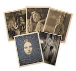 Tod Browning's personal collection of photographs from his films