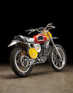 Ex-James Garner,1970 Husqvarna 400 Cross
