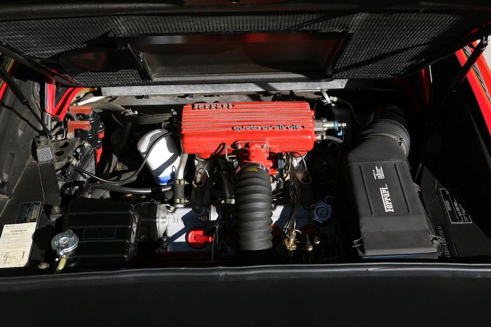 1984 FERRARI 308 GTS QV  Chassis no. ZFFUA13A4E0051941 Engine no. F 105 E040 (00383)