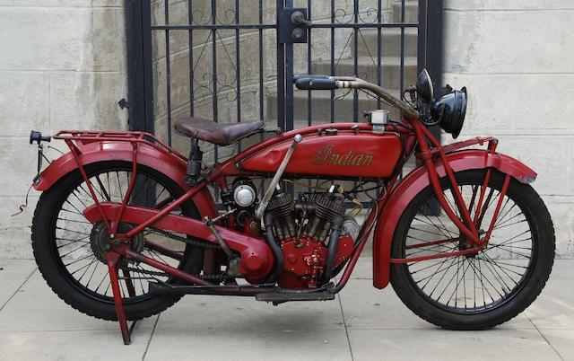 1920 Indian Scout Engine no. 56R115