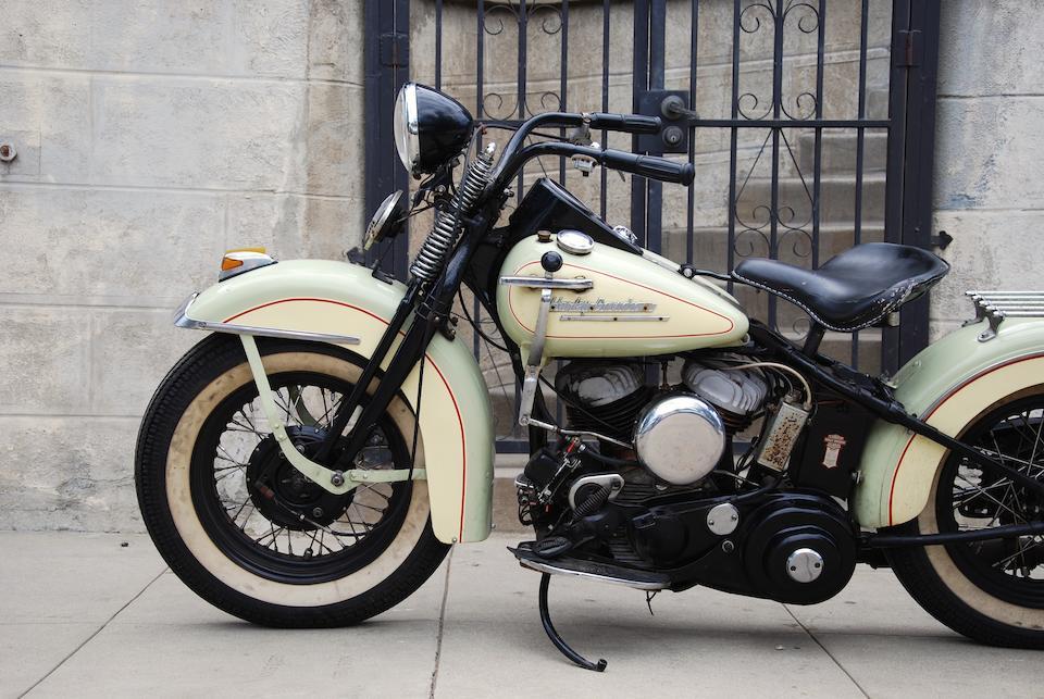 1951 Harley-Davidson WL SOLO Engine no. 51 G 1510