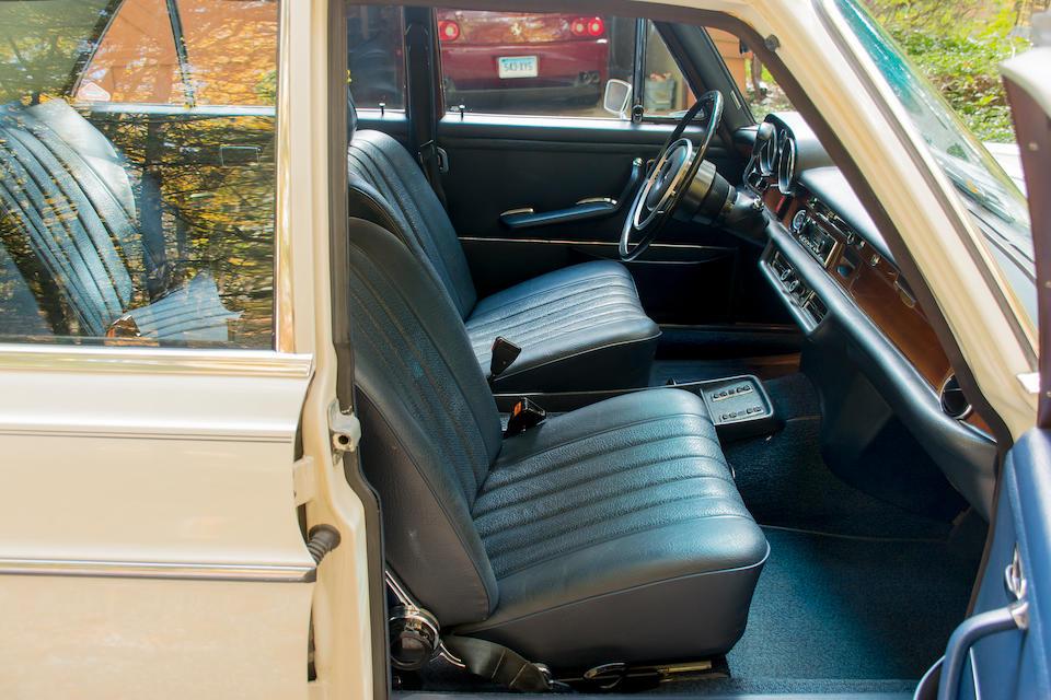<b>1972 MERCEDES-BENZ 280SE 4.5 Sedan</b><br />Chassis no. 108067 12 013924<br />Engine no. 117984-12-014068