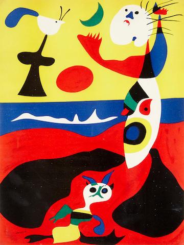 Joan Miró (1893-1983); L'Ete, from Verve Vol. 1, No. 3;