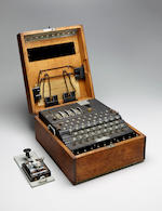 M4 Enigma machine for German naval use.