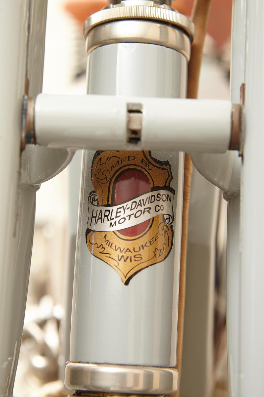 1912 Harley-Davidson Model X-8-E Twin Engine no. 6163B