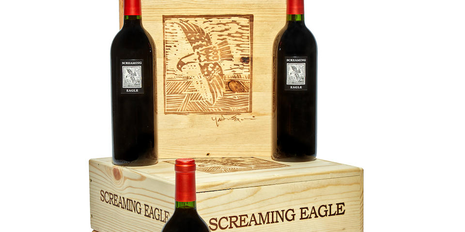 Screaming Eagle Cabernet Sauvignon 1996 (3)