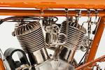 1912 Flying Merkel Twin Belt Drive Engine no. FQRMVN08217