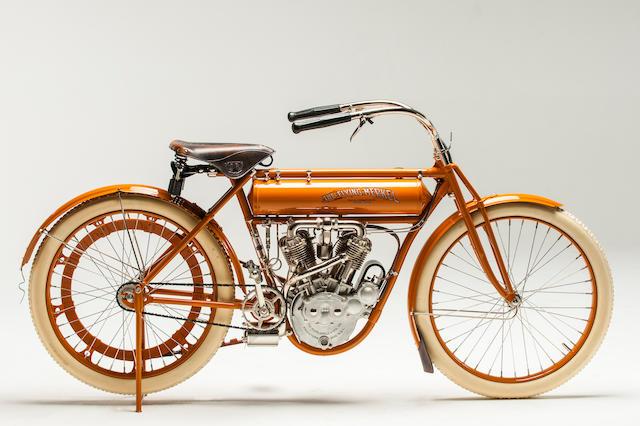 Harley Davidson: Bonhams : 1912 Flying Merkel Belt Drive V-Twin
