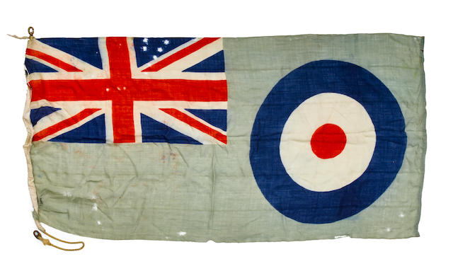 RAF BIGGIN HILL BASE FLAG [1940s].