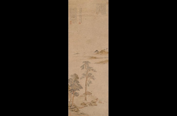 After Wen Zhengming (19th/20th century) River Landscape