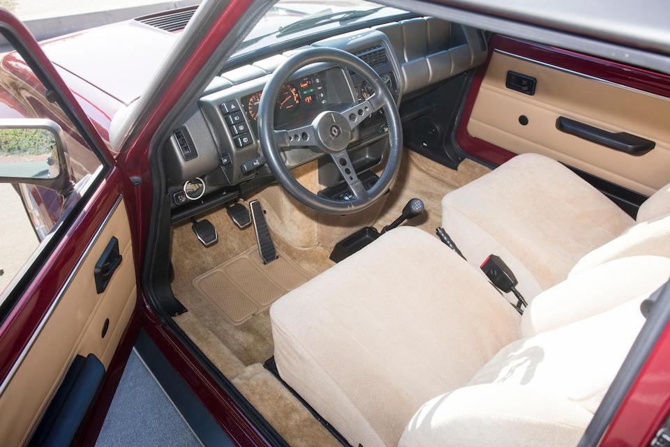 1984 Renault R5 Turbo IIVIN. VF1822000E0001185