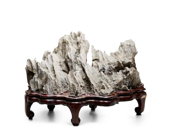 A Ying Stone Scholar's Rock