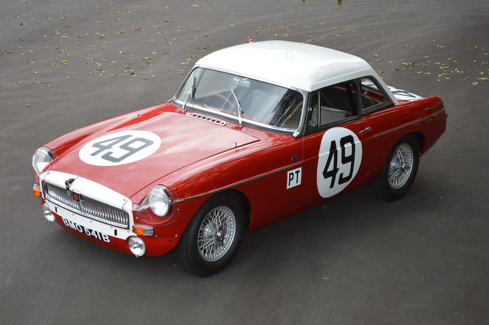 Bonhams : 1965 MGB SEBRING TRIBUTEChassis no  55354Engine no