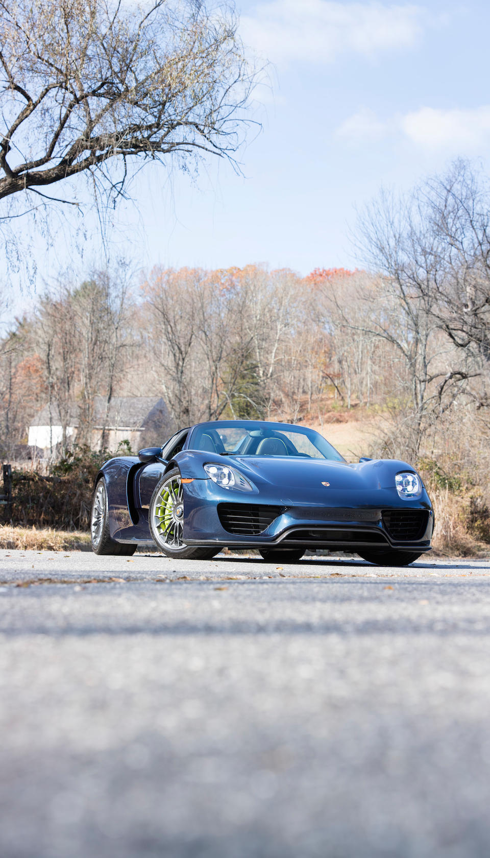 Bonhams 2015 Porsche 918 Spydervin Wp0ca2a15fs800268