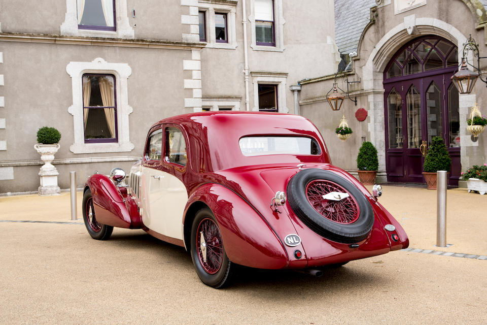 1937 Bugatti Type 57 Pillarless Saloon  Chassis no. 57443
