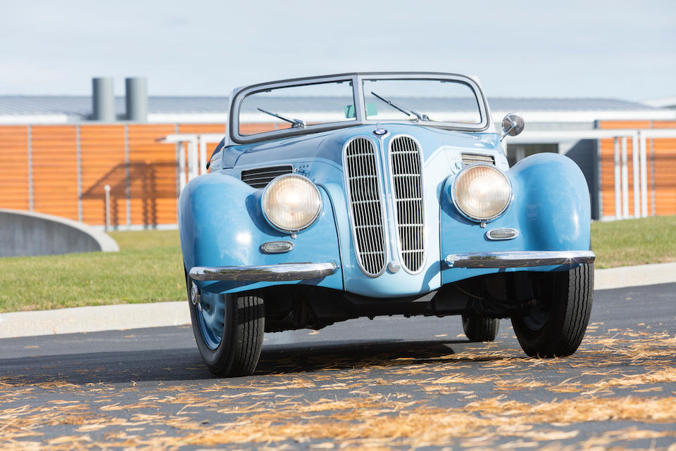 <B>1937 BMW 327/328 CABRIOLET<br /></B><BR />Chassis no. 74582<BR />Engine no. 111804 (see text)