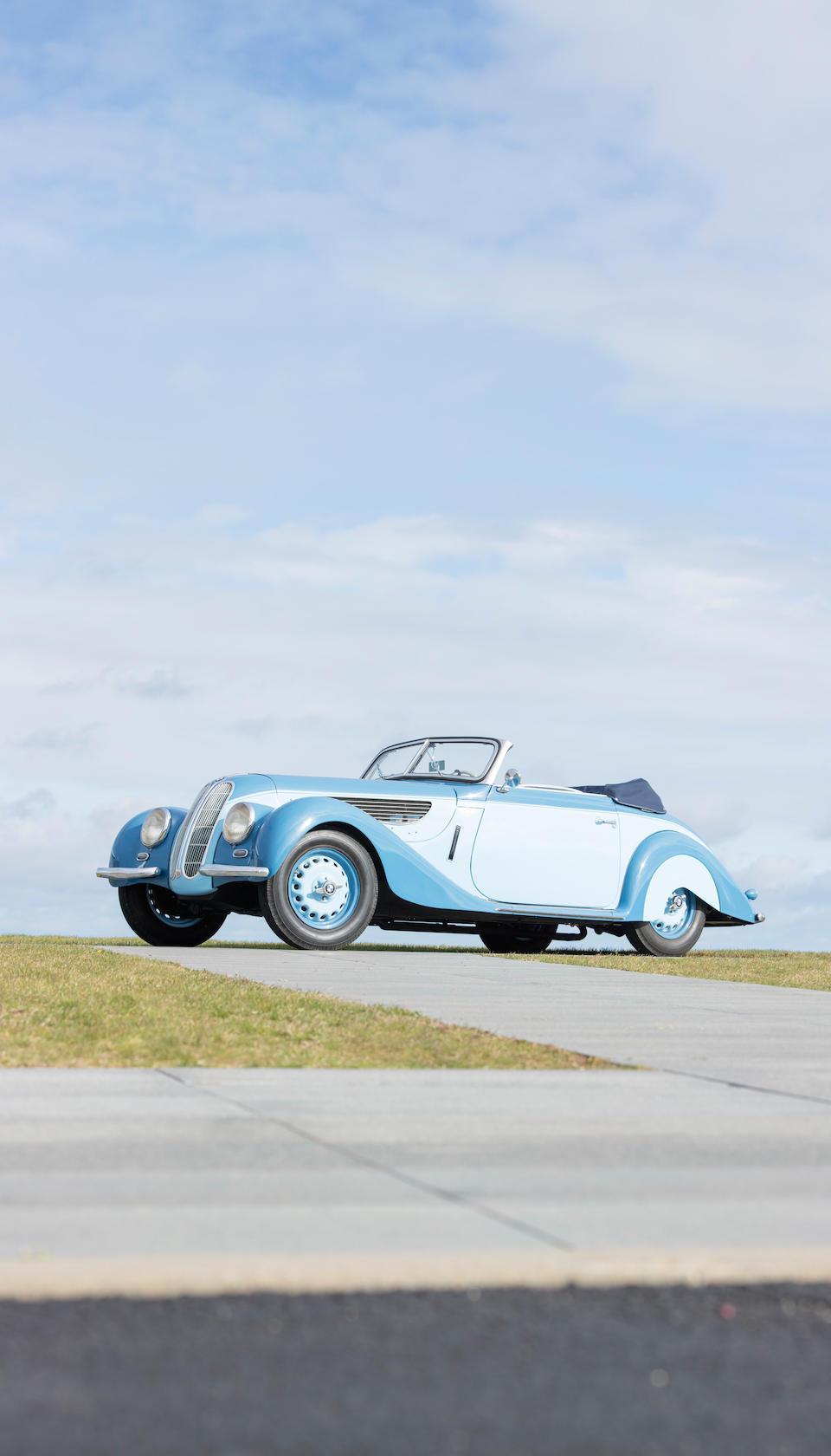 <b>1939 BMW 327/328 CABRIOLET</b><br />Chassis no. 74582<br />Engine no. 1111864