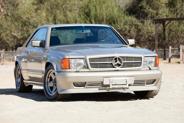 Bonhams 1989 mercedes benz 560 sec 6 0 amgvin for Mercedes benz 560 sec