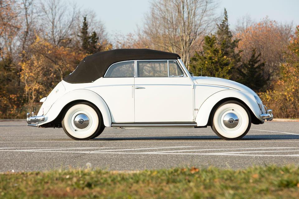 1956 Volkswagen Beetle Cabriolet
