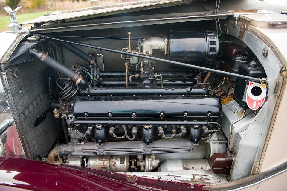 1937 ROLLS-ROYCE PHANTOM III SPECIAL NEWMARKET SEDAN  Chassis no. 3 BT 129