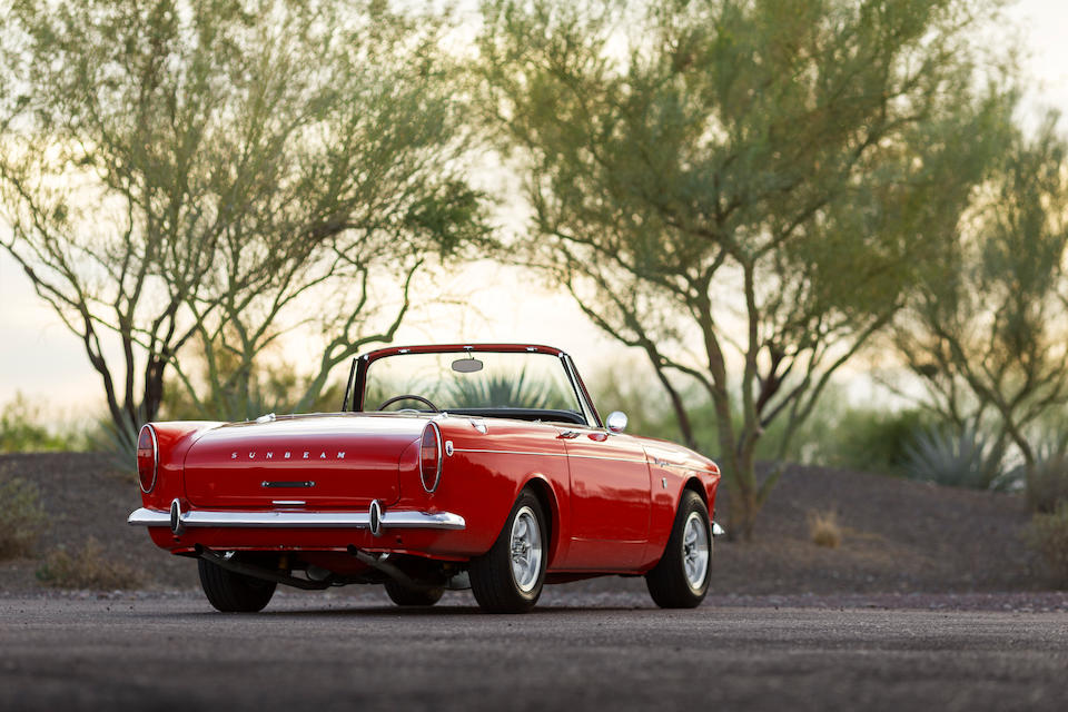1965 Sunbeam Tiger MKI  Chassis no. B9473614LRXFE Engine no. 4624 F21KA