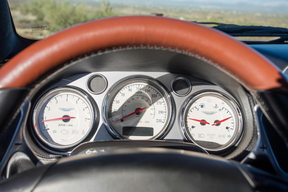 2003 Aston Martin VanquishVIN. SCFAC233X3B500982  Engine no. 01056