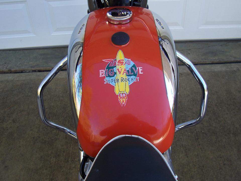 1960 BSA A10 Super Rocket Frame no. GA78589 Engine no. DA10R2277