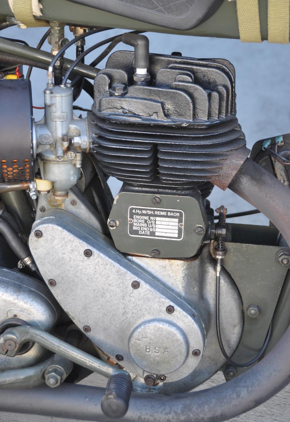Bonhams : 1943 BSA M20 Military Motorcycle Engine no  118198
