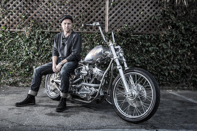 From the private collection of Ewan McGregor,2012 Indian Larry Panhead Chopper Frame no. PA1RW1C28BN127033