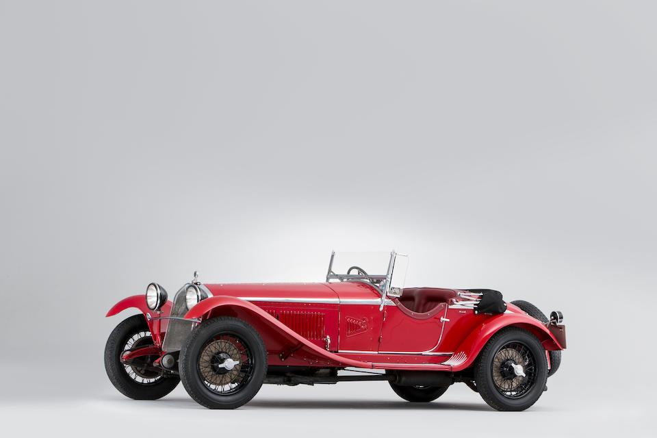 1931 ALFA ROMEO 6C 1750 Gran Sport Spider  Chassis no. 10814358 Engine no. 10814358
